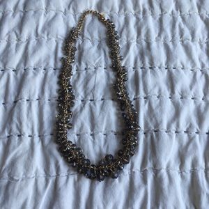Francesca's | Beaded Grey Necklace
